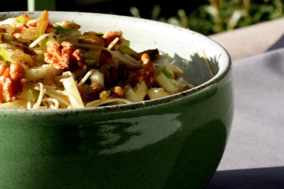 Celery and apple salad