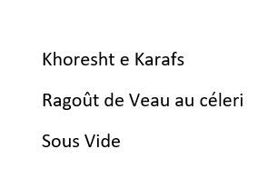 Kasrafs Sous Vide